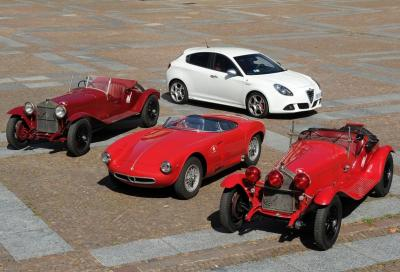 Alfa Romeo protagonista del Gran Premio Nuvolari 2013