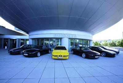 BMW, 120 proprietari a Monaco per celebrare i 25 anni della Serie 8