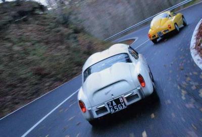 Abarth 750 Coupé Zagato (1958) e 850 Record Monza (1960)