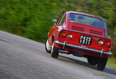 Fiat 850 Coupé, la mini Porsche
