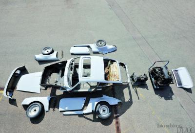 Il restauro: Porsche 911 T versione USA (1973)