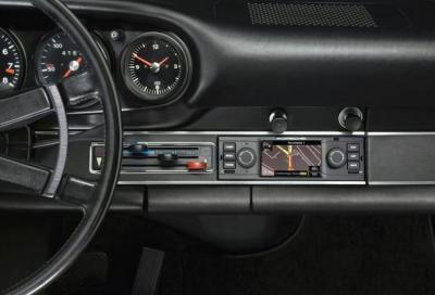 Il navigatore GPS in una Porsche 911 classica? Si può