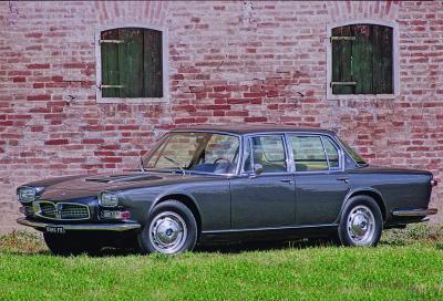 Maserati Quattroporte aperte al lusso