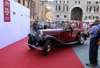 Verona Legend Cars, prima edizione di un nuovo appuntamento