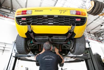 Riapre Lamborghini Polo Storico