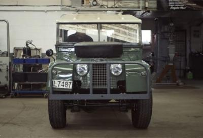 Un regalo da Land Rover ad un appassionato: la sua Series I restaurata