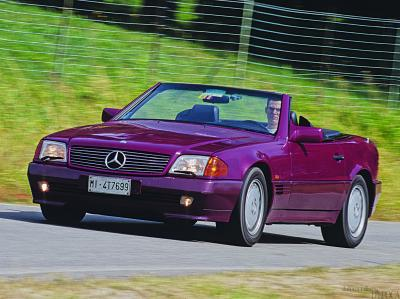 Mercedes Benz SL 500 W 129, mito perpetuo