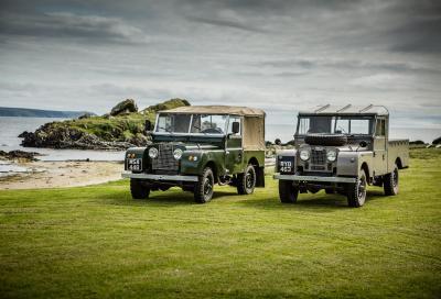 "Land Rover ""torna a casa"" in Scozia"