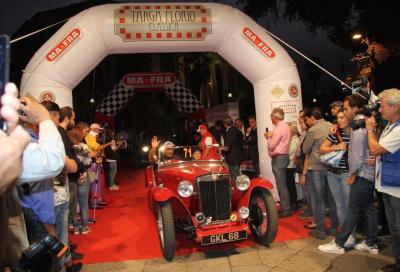 Partita la Targa Florio Classica da Palermo