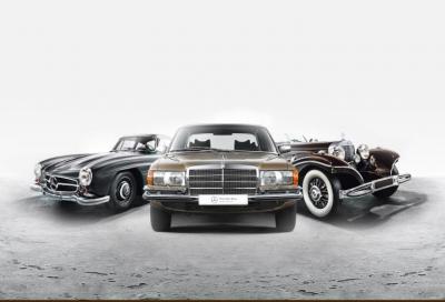 """Stelle di ogni epoca: Mercedes-Benz avvia la vendita delle """"storiche"""""""