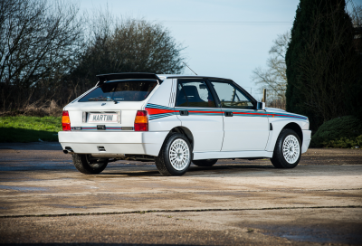 In vendita una Lancia Delta Integrale HF (quasi) km zero