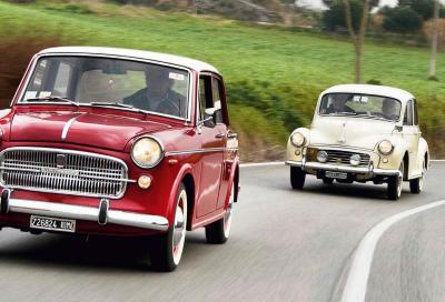MORRIS MINOR E FIAT 1100, UN 'INGLESINA PER ELSA