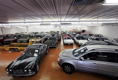 Le case d'asta si danno battaglia per le auto di Compiano