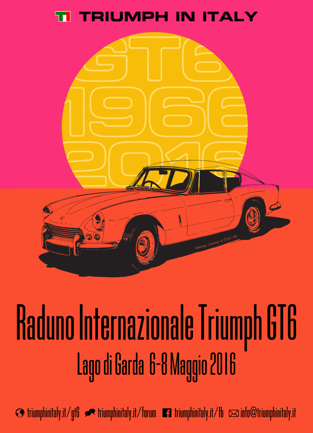 Dedicato alla GT6 ma aperto a tutte le Triumph il raduno sul Garda ... 3586fa7670b