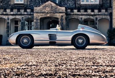 All'asta la Mercedes 300 SLR di Stirling Moss. Ma è una (costosissima) replica