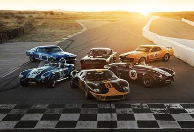 Le Ford da corsa più celebri a Monterey
