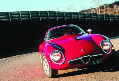 Alfa Romeo Giulia TZ, disegnata dalla fantasia e dal vento