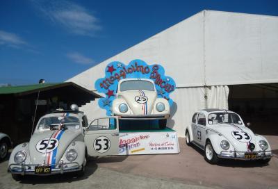Herbie protagonista al 25esimo Maggiolino Show 2016