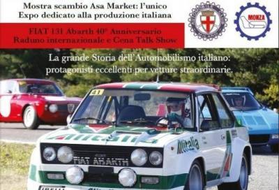 A Monza la storia dell'automobilismo made in Fiat