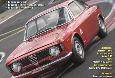 Su Automobilismo d'Epoca di Novembre GTA in copertina e prova della S4 Gr. B con Alén!