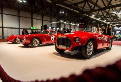 Nove milioni di euro per 8 supercar a Duemila Ruote dentro Milano Autoclassica