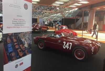 """""""90 anni, 1000 Miglia"""": l'anticipazione al Motor Show di Bologna"""