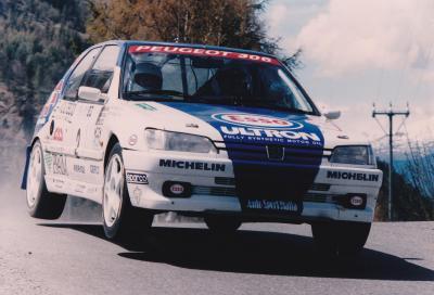 Rally: vent'anni fa la prima vittoria Peugeot nel Campionato italiano