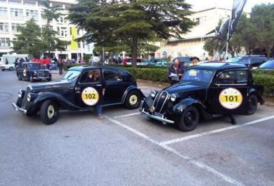 101. Targa Florio Classica, vincono Giovanni Moceri e Valeria Dicembre