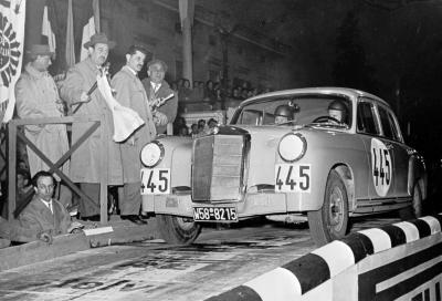 Correva l'anno (e la Mercedes) alla 1000 Miglia