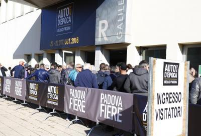 Padova capitale dell'auto: attesi nuovi record per Auto e Moto d'epoca 2017