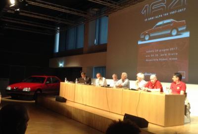 Alfa Romeo in festa, Enrico Fumia ha raccontato la 164