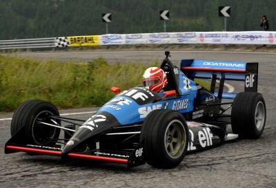 """Una Formula 3 domina al """"colle della velocità"""""""