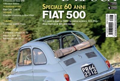I 60 anni della Fiat 500 sulla copertina del fascicolo di Luglio