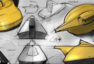 Dalla pista alla tavola: la teiera gialla di Renault