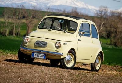 Dall'asse Italia-Austria, la 500 Steyr Puch