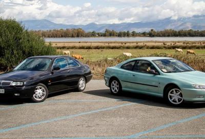 Peugeot 406 e Lancia k: vestivamo (coupé) alla torinese