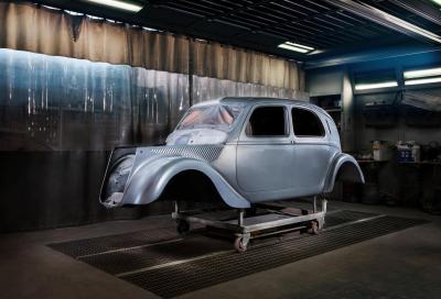 FCA Heritage festeggia l'80° anniversario della Lancia Aprilia restaurando un raro esemplare della collezione aziendale