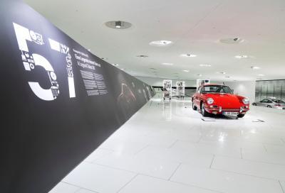 Restaurata e pronta a ripartire: la 901 n. 57 del Museo Porsche