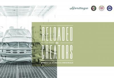 """FCA Heritage presenta il nuovo servizio """"Reloaded by creators"""""""