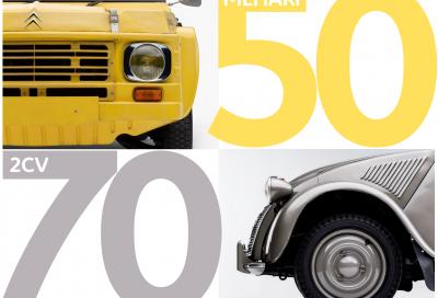 Citroën festeggia 70 anni di 2CV, 50 di Méhari e si prepara per i suoi 100