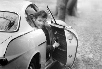 """L'auto de """"Il Santo"""" a Essen: esposta la Volvo 1800 S di Simon Templar"""