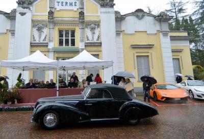 Una Fiat 6C 1500 best in show del Concorso di Salvarola Terme