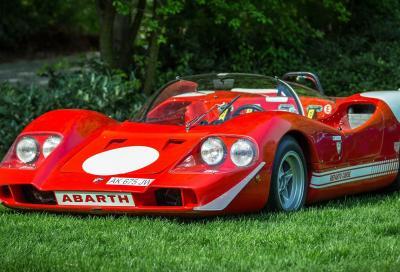L'Abarth 2000 SE nello stand ACI Storico a Verona Legend Cars