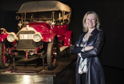 Una donna al timone del Museo Nazionale dell'Automobile