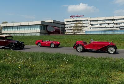 Parata di stelle nella squadra Alfa Romeo alla Mille Miglia 2018