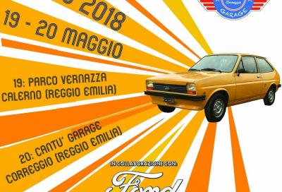 Le Ford Fiesta a raduno in Emilia per beneficenza