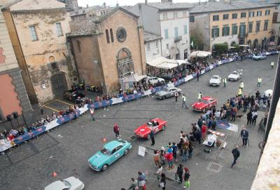 Tonconogy in testa alla 1000 Miglia diretta a Parma