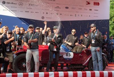 Dominio Alfa Romeo alla Mille Miglia vinta da Tonconogy-Ruffini