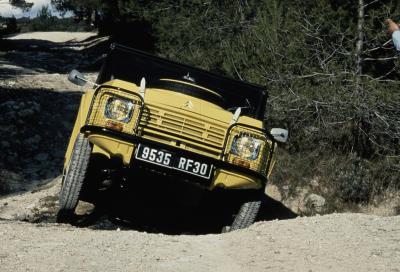 Face-off: i 50 anni della Citroën Méhari