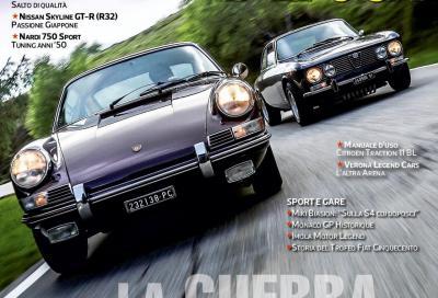 Alfa Romeo e Porsche a confronto su Automobilismo d'epoca di Giugno
